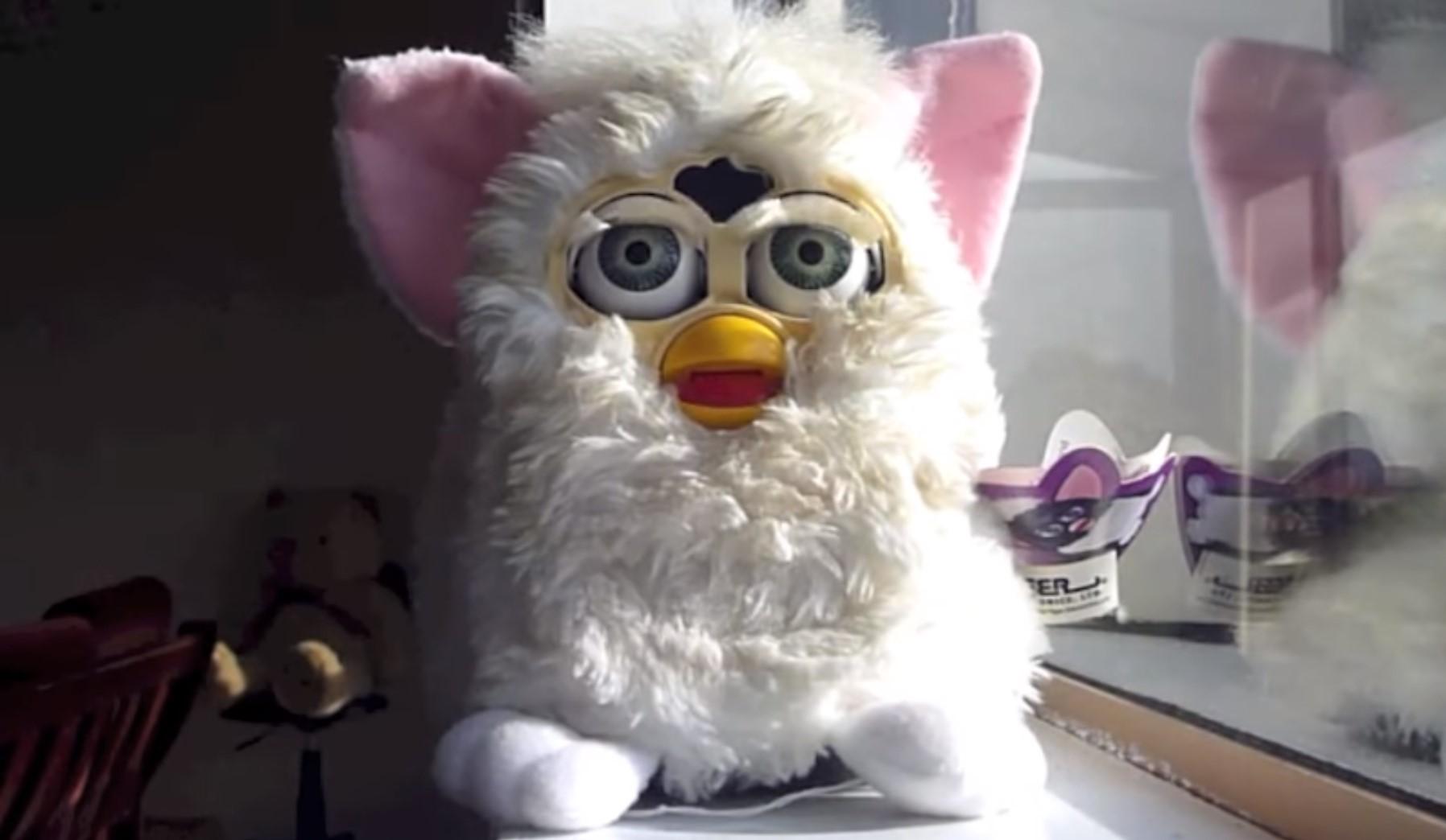 brinquedos anos 90 Boneco original Furby 1996 J Sabas Youtube