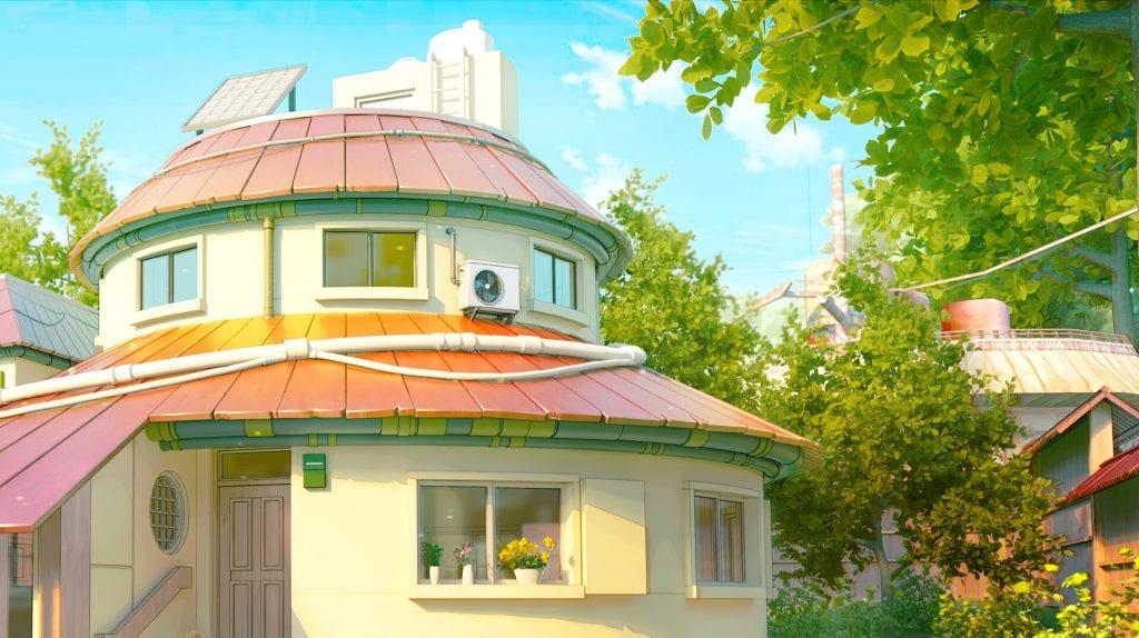 uzumaki house naruto artstation
