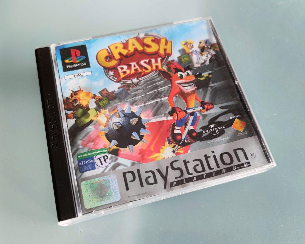 crash bash ps1 playstation game jogo