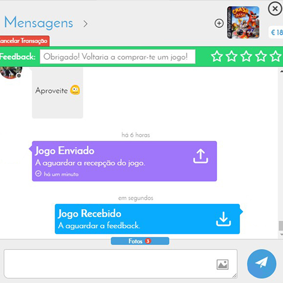 chat GameTrade