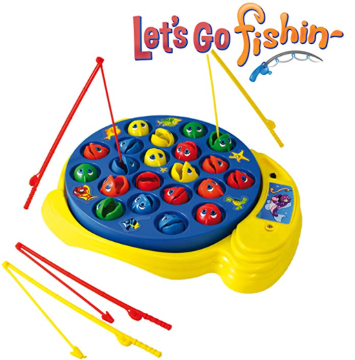 jogo lets go fishin pesca anos 90 tabuleiro retro