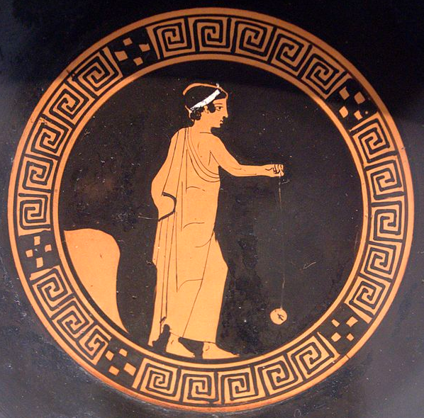 yo yo grecia antiga wikipedia