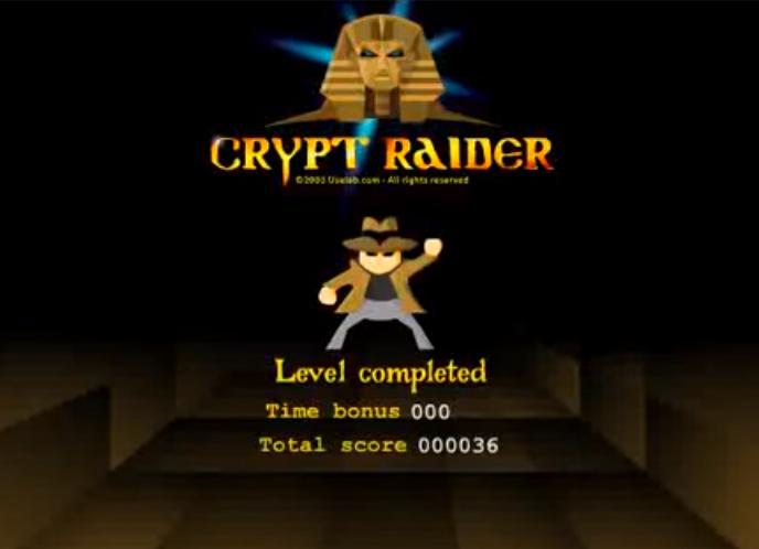 crypt raider miniclip flash