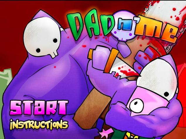 dad n me jogo flash menu