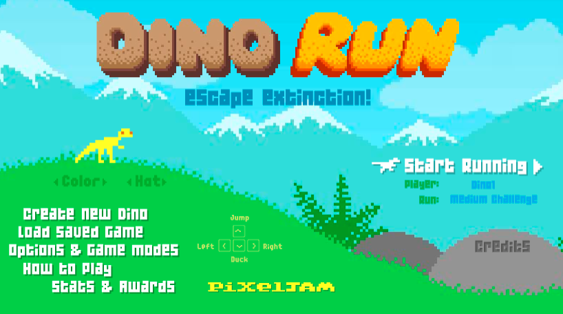 dino run jogo flash