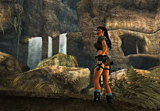 lara croft tomb raider personagens femininas jogos