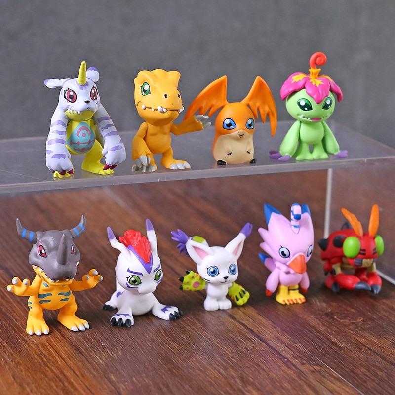 9 Figuras Digimon