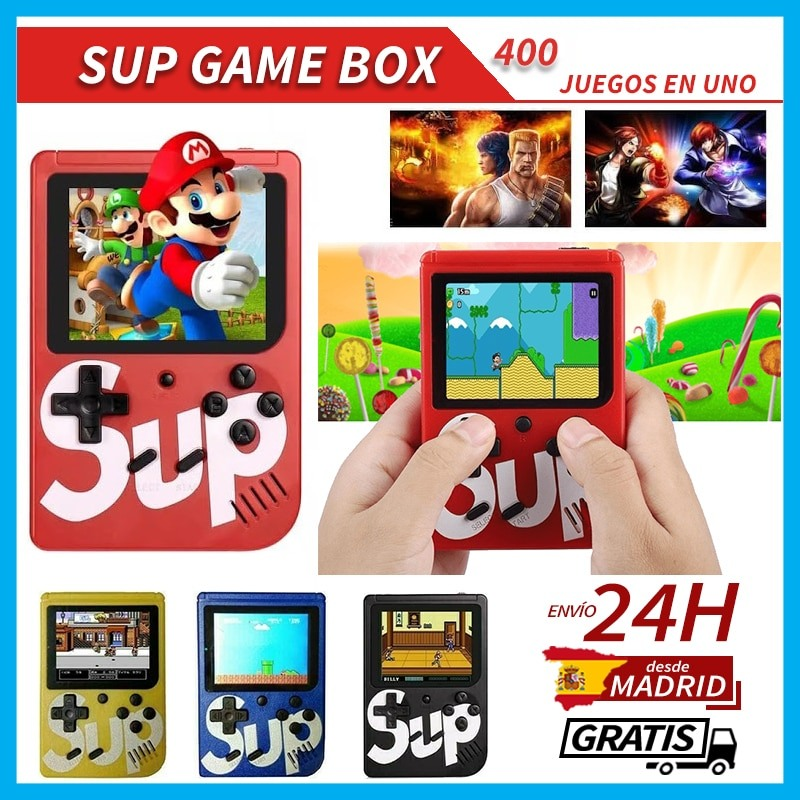 Consola Retro SUP +400 Jogos