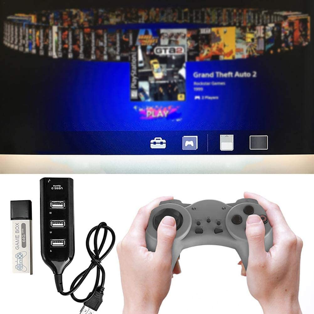 Game Box 64GB para Playstation Classic Mini