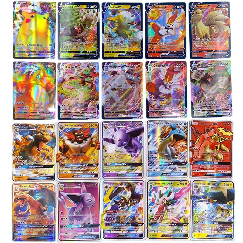 Packs Cartas Pokemons gx Brilhantes