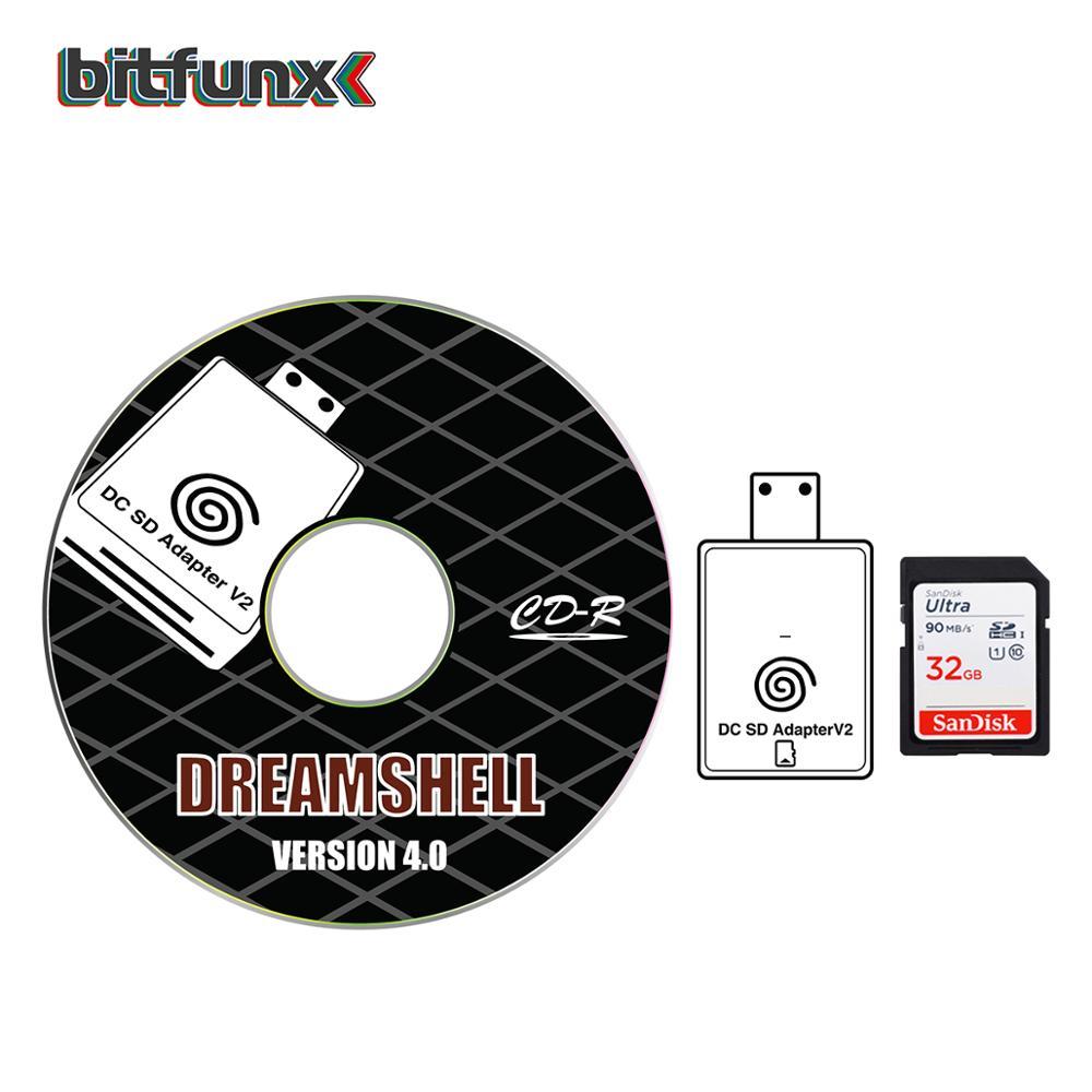 Bitfunx Emulador Dreamshell para sega dreamcast
