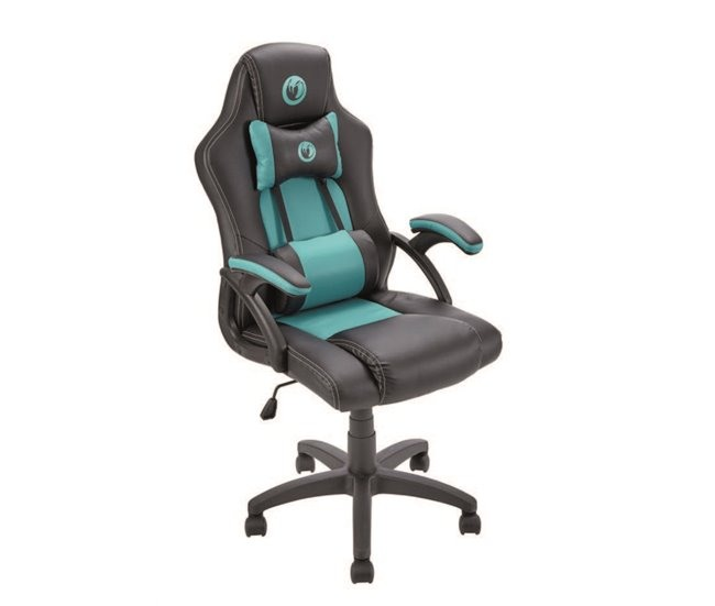 Cadeira gaming de escritório DENVER Turquesa