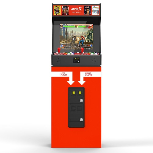 Máquina Arcade SNK MVSX 50 SNK Jogos clássicos - Neo Geo Pocket