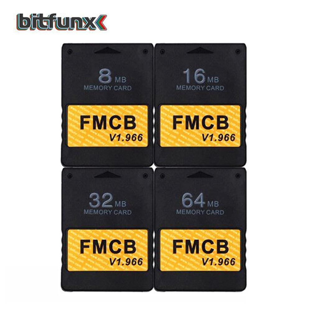 Cartão Memória PS2 com mcboot v1.966 8mb/16mb/32mb/64mb