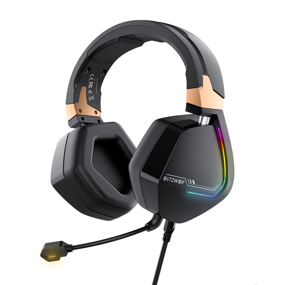 Gaming Headphones BlitzWolf BW-GH2 7.1 PC PS3 PS4