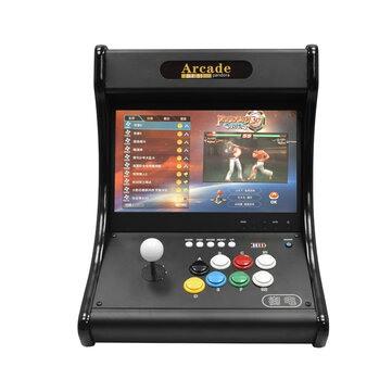 Consola Retro Arcade Raspberry PI 4B com ecrã e botões estilo BarTop