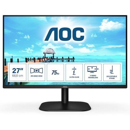 """Monitor AOC 27B2H 27"""" LED IPS FullHD"""